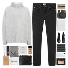 """""""alleyways"""" by nothing-like-the-rain ❤ liked on Polyvore featuring Acne Studios, Annette Görtz, NARS Cosmetics, Linum Home Textiles, MAKE UP FOR EVER, BCBGMAXAZRIA, Aesop, Incase, Byredo and H&M"""
