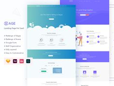 ReDesign of Skype & Asana Make Business, Landing Page Design, Asana, Startups, Software, Forget, Things To Come, Templates, Website