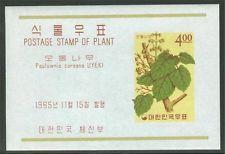 KOREA FLOWERS SET OF SOUVENIR SHEETS SCOTT#456a/67a MINT NH AS SHOWN
