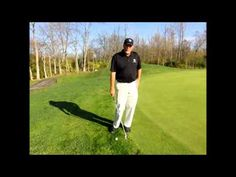 VIDEO #golftip How to set up your chip shot.