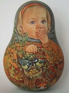 US $207.00 New in Dolls & Bears, Dolls, By TypeMatryoshka | Nesting DollsMore Pins Like This At FOSTERGINGER @ Pinterest