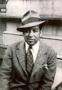 Langston Hughes--one of the best American poets in the 20th century