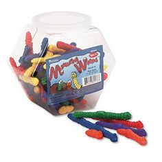 Learning Resources LER0176 Learning Resources Measuring Worms, 72 Worms (6 Colors, 4 Sizes), Pre-K and Up Learning Resources,http://www.amazon.com/dp/B000296LOS/ref=cm_sw_r_pi_dp_vzkgtb1XP049V1ZF