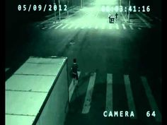 Real angel caught on tape saving man's life