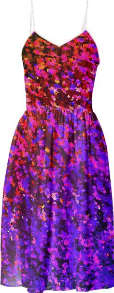 SUMMER DRESS Colour Splash G49 by medusa-graphicart