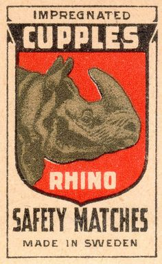 Swedish #matchbox label  To Order your business's logo'd advertising #matches GoTo www.GetMatches.com or Call 800.605.7331 Today!