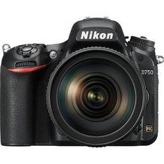 Nikon D750 DSLR with 24-120mm f4 Lens