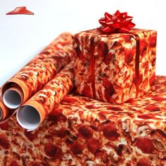 Pizza wrapping paper! lol