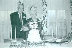 Frank and Mary (Swarts) Ketchum 50th Wedding Anniversary March 4, 1958.