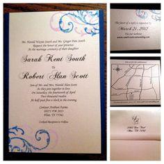 Hand-made invitations