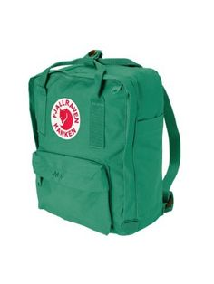 Fjallraven Mini Kanken Backpack (Teal Green) by Fjallraven. $40.98. The smaller version of the popular Kånken Daypack is perfect for little kids or as a handbag replacement. Every generation of Scandinavian Kids have worn Fjällräven's Kånken daypack since it debuted in 1978. The classic design is the same today as back then and remains just as popular. For school, day trips, or biking to work the Kånken makes a lifelong companion for kids and adults.