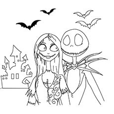 The Nightmare Before Christmas Coloring Pages | Cricut, Stenciling ...