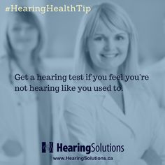 Not hearing like you used to? How about getting a hearing test? #hearinghealthtip #hearingtest #hearinghealthmatters #betterhearingmatters #hearbetterlivebetter