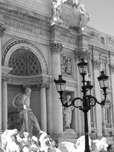 Trevi Fountain, Rome, August 2010,