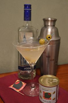 "Sometimes the easiest drink recipes are the best. Made with quality ingredients, even the simplest drink can be made into something special. The real key to a great martini is in the shake (according to my expert).  It is important to use large ice cubes so they will break up and create the infamous ice shavings on top, otherwise known as being ""on skates."" Shake for longer than you would think, if necessary."