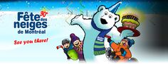 The Fête des neiges de Montréal is an outdoor family event that takes place over 4 weekends. Festivals, Sonic The Hedgehog, Disney Characters, Fictional Characters, Snow, Stuff Stuff, Concerts, Fantasy Characters, Festival Party