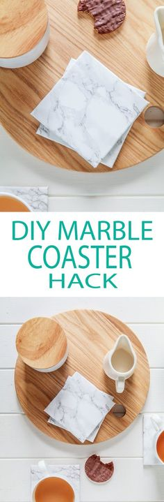 DIY Marble Coaster Hack & Video | The Whimsical Wife