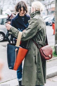Crossbody, and toe, AND olive trench coat