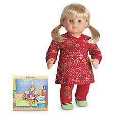American Girl Bitty Baby Twins Snowflake Tunic Pajamas PJ's NIB - No Doll