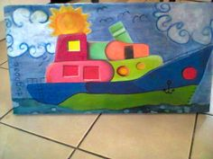 Blocked on wooden canvas 600 x 300 mm. excluding p+p. Canvas, Fun, Color, Tela, Canvases, Colour, Funny, Colors