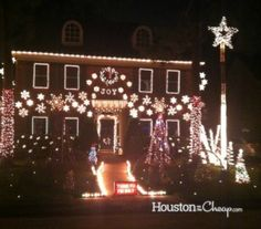 Best Christmas Lights in Houston - Houston On The Cheap
