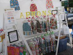 Craft show display on pinterest craft show displays for Clothing display ideas for craft shows