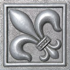 "Decorative Accent Tile Brilliant Camelot 4"" X 4"" Metal Arthur Decorative Accent Tile In Iron Design Decoration"