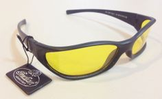 NEW Indian Sunglasses - Black & Yellow - Mens