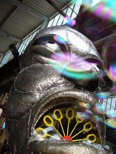 DIE Seifenblasenmaschine, 2008 auf der Feinkost.