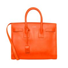 Sass up your wardrobe with this bright Saint Laurent handbag!