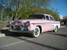 1956 Desoto Firedome. THIS IS MY DREAM CAR! But a '59 with larger fins. <3