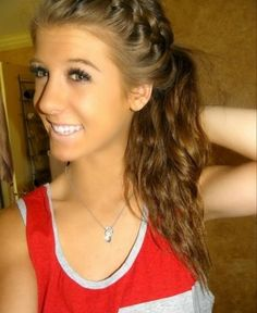 Side french braid!! For those lazy mornings!