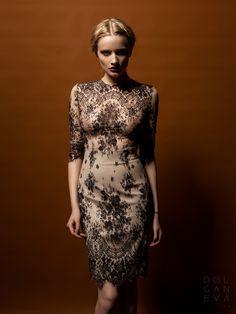 Платье - кружевное полотно, хлопок / dress - lace fabric, cotton