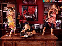 bret michaels without bandana | Bret Michaels Thinks Fatherhood Rocks