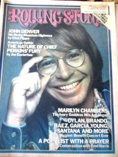 Rolling Stone Magazine Issue 186 / 1976 John Denver #rolllingstone