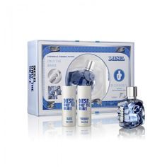 DIESEL ONLY THE BRAVE 50ML GIFT SET - This set contains Only The Brave EDT 50ml + After Shave 50ml+Shower Gel 50ml Men