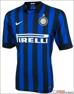 Nike Inter Milan Home Jersey 2011-2012...$55.99