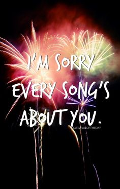 the torture of small talk with someone you used to love Fourth Of July - Fall Out Boy