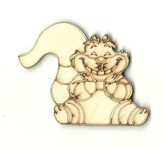 Cheshire Cat - Laser Cut Wood Shape DSY132