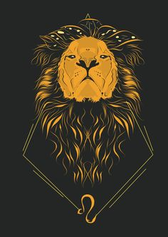 Leo the Lion, proud and courageous ♌