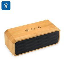 rogeriodemetrio.com: Bamboo Wireless Stereo Speaker - Bluetooth