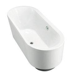 Evok Oval Freestanding Bath Features: Freestanding acrylic plain bath (fully reinforced) Easy installation using drop in base support system and adjustable feet Bath And Shower Products, Drop In Bathtub, Freestanding Bath, Bathrooms, Base, Design, Freestanding Tub, Bathroom, Full Bath