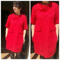 #sartoriashpresa #handmade #reddress