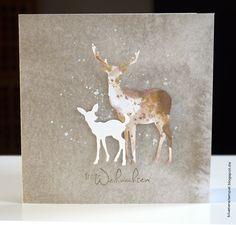 Learn more about Homemade Christmas Cards Christmas Card Crafts, Christmas Drawing, Christmas Cards To Make, Xmas Cards, Holiday Cards, Homemade Christmas, 123 Cards, Winter Karten, Karten Diy