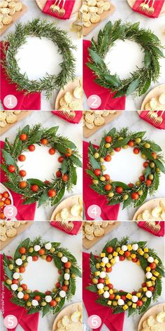 Holiday parties 56787645290127474 - Christmas Wreath Cheese Platter Appetizer – an easy to assemble cheese board recipe that is very festive and perfect for holiday parties! Source by birdsparty Best Christmas Appetizers, Christmas Cheese, Christmas Desserts, Appetizers For Party, Christmas Treats, Christmas Holidays, Christmas Decorations, Christmas Recipes, Appetizer Recipes