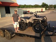 Thanks to Wesley Blackburn from Purvis MS for getting a 2015 Yamaha Grizzly 700 at Hattiesburg Cycles
