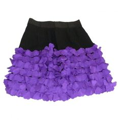 Pre-owned SONIA BY SONIA RYKIEL SILK SKIRT WITH VIOLET HEARTS ($125) ❤ liked on Polyvore featuring skirts, silk skirt, heart skirt, purple skirt and sonia by sonia rykiel