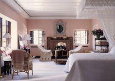 Rattan in HOUSES, GARDENS, PEOPLE Marella Agnelli in Marrakech