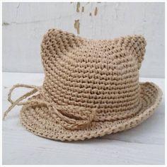 남녀노소 가능한 여름용 코바늘 모자 도안들 : 네이버 블로그 Crochet Beanie Hat, Beanie Hats, Crochet Baby, Knit Crochet, Sombrero A Crochet, Knitting Patterns, Crochet Patterns, Raffia Hat, Baby Cardigan Knitting Pattern