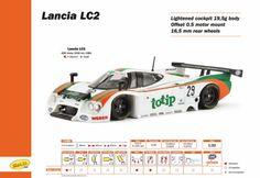 Slot Cars, Slot.it Lancia LC2 'tiptop' CA08d,#29 Imola 1000 km 1984, P. Martini - M. Baldi  See more photos  at: http://manicslots.blogspot.com.au/#sthash.GoeQPr28.dpuf